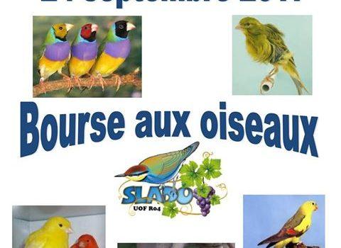 La Bourse aux Oiseaux de la SLADO