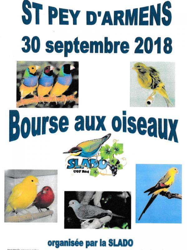 La Bourse aux Oiseaux de la SLADO 2018