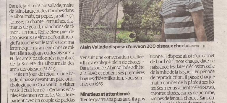 La passion de notre président Alain VALLADE